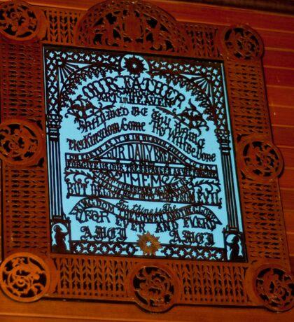 0616 The Lord's Prayer Sticker