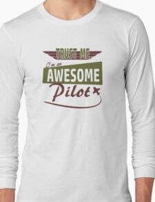 Awesome Pilot Long Sleeve T-Shirt