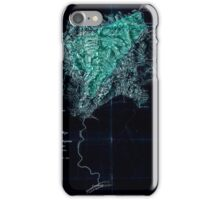 117 A topographical map of the lands of the Cabin Creek Coal Co of W Virginia embracing 14 307 acres in Kanawha and Boone counties West Virginia Inverted iPhone Case/Skin