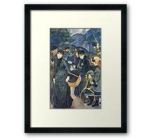 Renoir Auguste - The Umbrellas. Auguste Renoir Umbrellas Framed Print