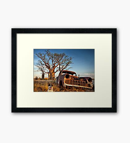 Just Hanging 'Round... Framed Print