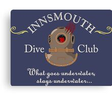 Innsmouth Dive Club Logo Canvas Print