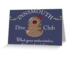Innsmouth Dive Club Logo Greeting Card