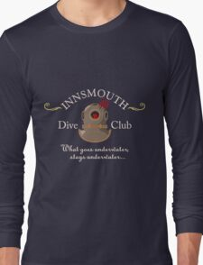 Innsmouth Dive Club Logo Long Sleeve T-Shirt