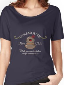Innsmouth Dive Club Logo Women's Relaxed Fit T-Shirt