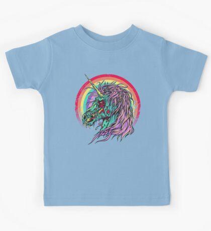 Zombie Unicorn Kids Tee