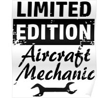 Limited Edition Aircraft Mechanic Poster