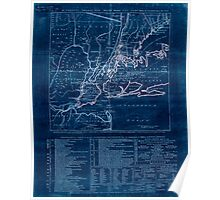 American Revolutionary War Era Maps 1750-1786 923 The country twenty five miles round New York  1 Inverted Poster