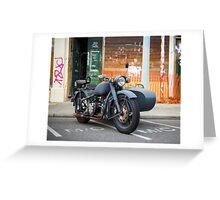 Rusty Ride Greeting Card