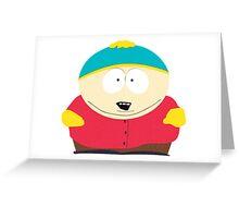 Eric Cartman South Park Greeting Card