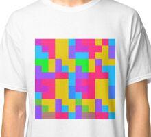 Colorful tetris shapes Classic T-Shirt