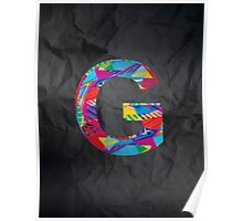 Fun Letter - G Poster