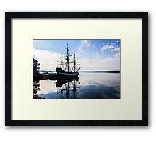 Dreimaster - Tall Ship Framed Print