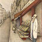 Montmartre Drawing by Steve Bonello