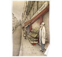 Montmartre Drawing Poster