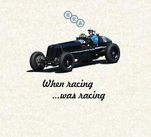 When racing was racing Hoodie