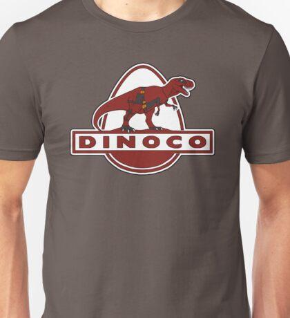 Dead Dinoco Unisex T-Shirt