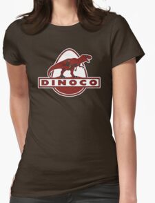 Dead Dinoco Womens Fitted T-Shirt