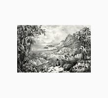 Enoch Arden - the lonely isle - 1869 - Currier & Ives Unisex T-Shirt