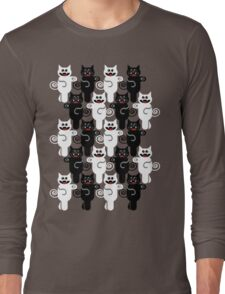MARCHING CATS Long Sleeve T-Shirt