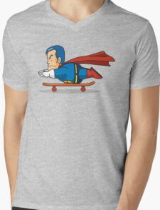 Suppaman Mens V-Neck T-Shirt