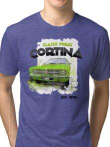 NEW Classic Ford Cortina Men's T-shirt Tri-blend T-Shirt