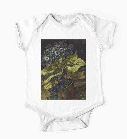 1886-Vincent van Gogh-Cineraria-45,5x54,5 One Piece - Short Sleeve