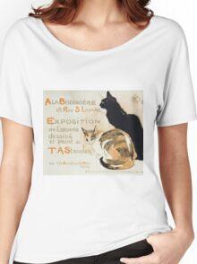 Theophile Alexandre Steinlen - A La Bodiniere Women's Relaxed Fit T-Shirt