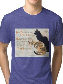 Theophile Alexandre Steinlen - A La Bodiniere Tri-blend T-Shirt