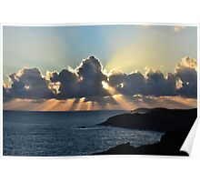 And the sunbeams touch the sea Poster