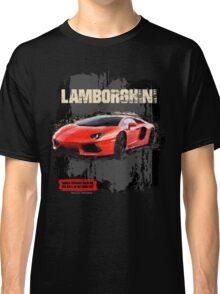 NEW Men's Lamborghini Sports Car T-Shirt Classic T-Shirt