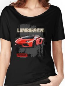 NEW Men's Lamborghini Sports Car T-Shirt Women's Relaxed Fit T-Shirt