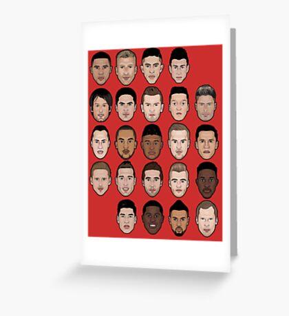 Arsenal 2015/2016 Greeting Card