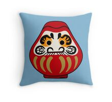 Cute Daruma doll Throw Pillow