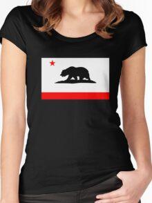 California Bear Women's Fitted Scoop T-Shirt
