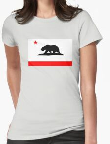 California Bear Womens Fitted T-Shirt