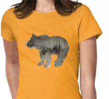 Bear cub  Womens Fitted T-Shirt