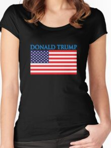 Donald Trump For President Women's Fitted Scoop T-Shirt