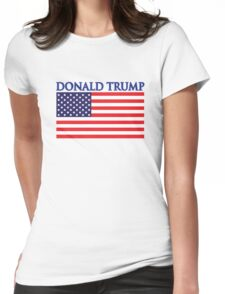 Donald Trump For President Womens Fitted T-Shirt