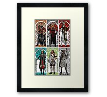 Possible World Leaders of Thedas Framed Print