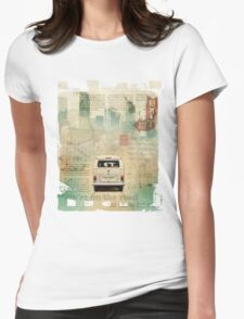 NEW Classic VW Camper Van T-Shirt Womens Fitted T-Shirt