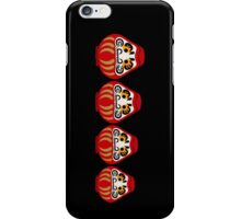 Daruma russian nesting doll style iPhone Case/Skin