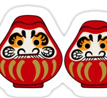 Daruma russian nesting doll style Sticker