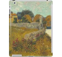 Vincent Van Gogh - Farmhouse In Provence  iPad Case/Skin