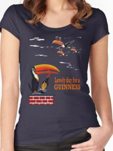 LOVELY DAY FOR A GUINNESS Women's Fitted Scoop T-Shirt