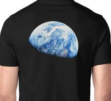 EARTH, PLANET, SPACE, Blue planet, Earthrise, Apollo 8, 1968 Unisex T-Shirt