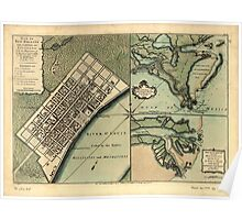 American Revolutionary War Era Maps 1750-1786 751 Plan of New Orleans the capital of Louisiana with the disposition of its quarters and canals as they have Poster