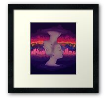 Dreams above reality Framed Print