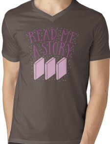 Read me a story Mens V-Neck T-Shirt