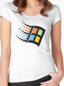 WinLogo Women's Fitted Scoop T-Shirt